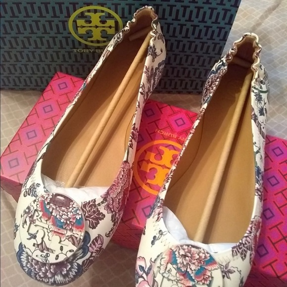 Tory Burch Shoes - Tory Burch Minnie Travel Ballet